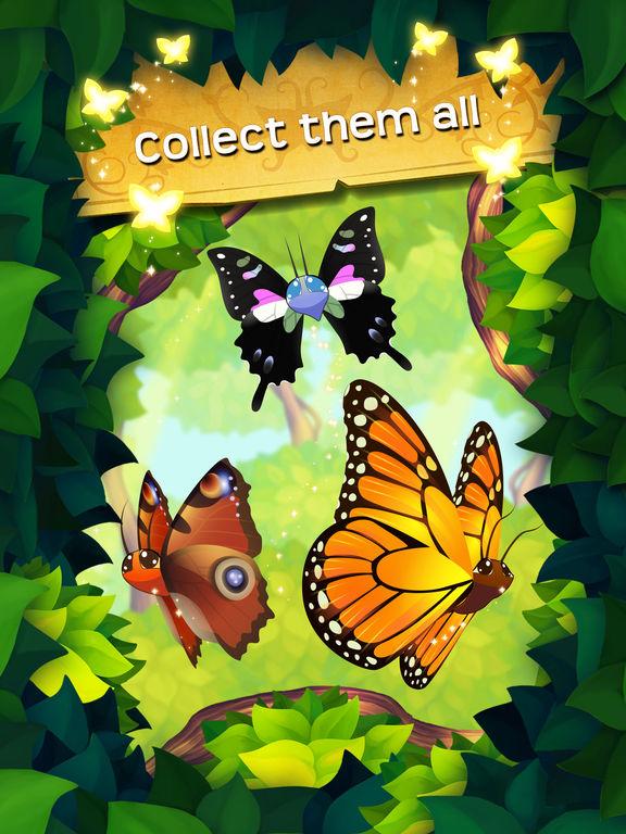 Собрать бабочек играть онлайн