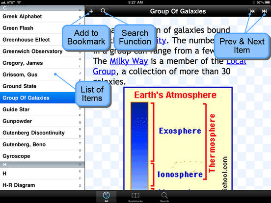 Glossary of Astronomical Terms iPad Screenshot 5
