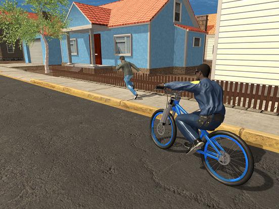 Screenshot #3 for Police BMX Rider: Crime