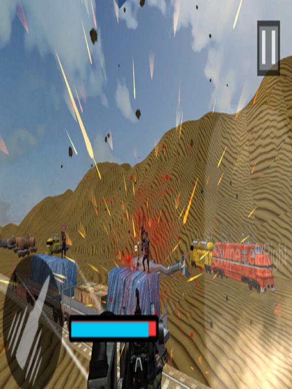 Euro Train Gunner Battle 2017 screenshot 10