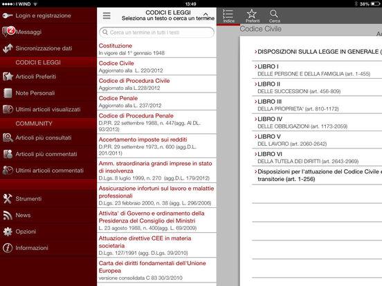 Civile iPad Screenshot 3