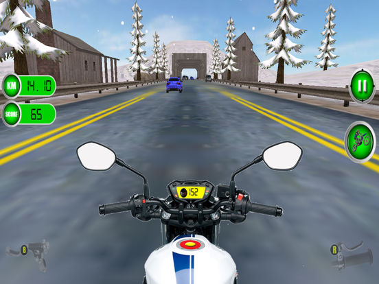 Traffic Moto Racing 2017 Pro screenshot 8