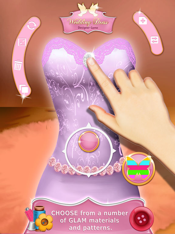 App shopper wedding dress designer game fashion studio Wedding dress design app