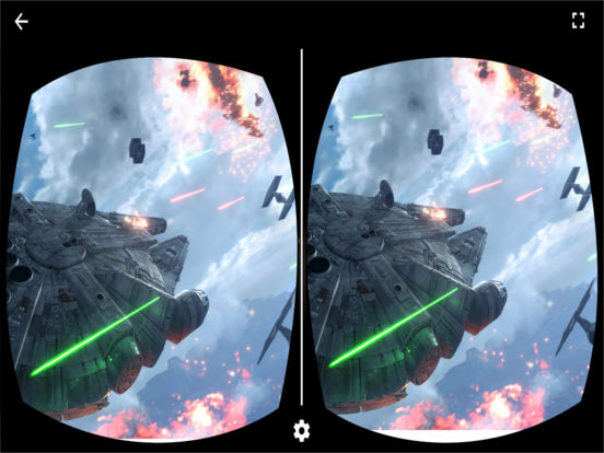 VR Player for Star Wars with Google CardBoard Screenshots