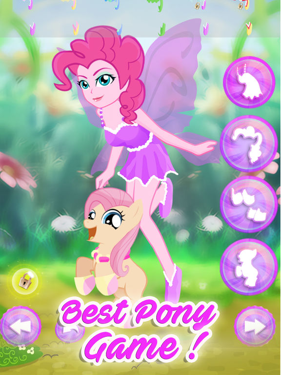Fairy Tales Pony Dress Up Games screenshot 6