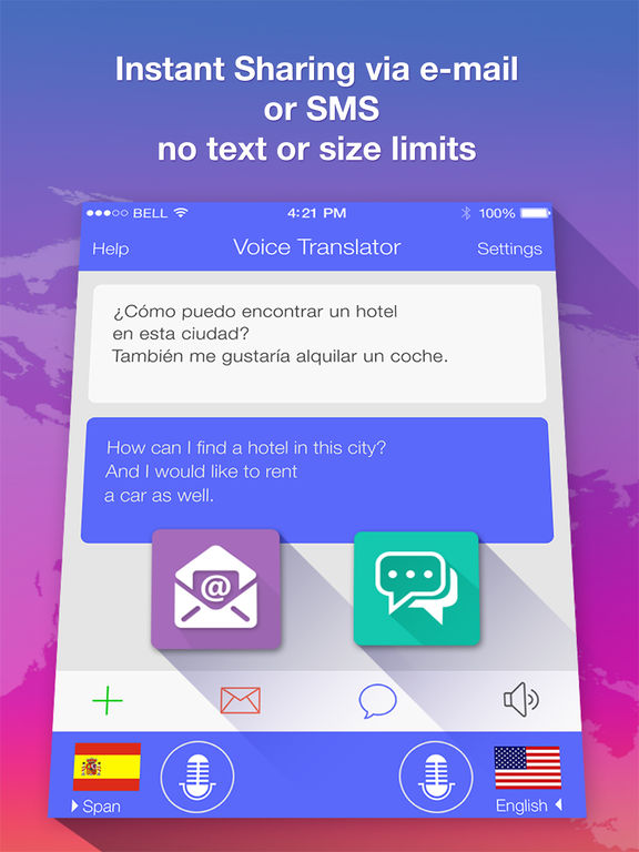 Voice Translate PRO - speech & text translator Screenshots
