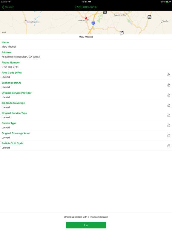 Caller ID & Reverse Phone Number Lookup Screenshots