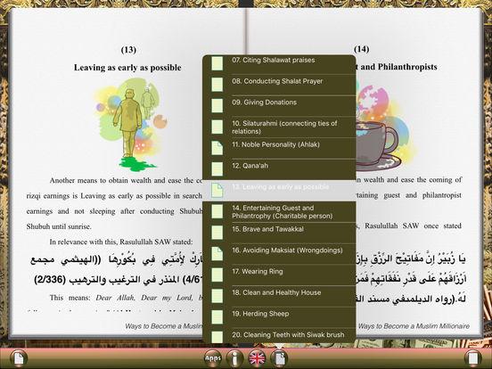 Ways to Become a Muslim Millionaire for iPad iPad Screenshot 4