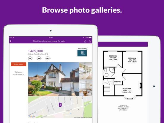 Zoopla Property Search iPad Screenshot 3