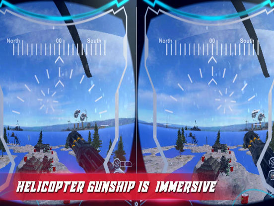 VR US Army Commando Gunship-PRO screenshot 7