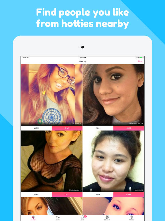flirt and hook up app