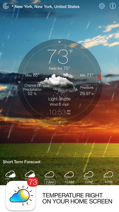 Weather Live Free - Weather Forecast & Alerts screenshot