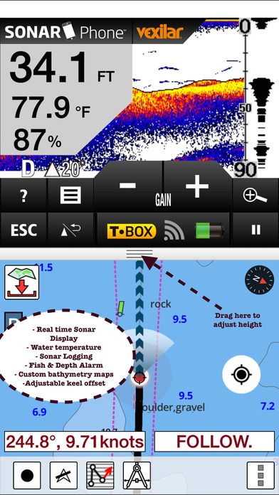 Gps fishing maps on the app store for Fishing gps apps