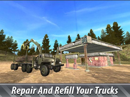 Offroad Cargo Truck Simulator 3D Full screenshot 8