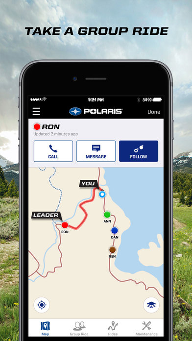 App Shopper: Polaris Ride Command (Navigation)