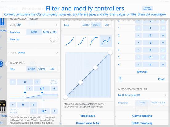 Midiflow – MIDI router/processor/sync clock Screenshots