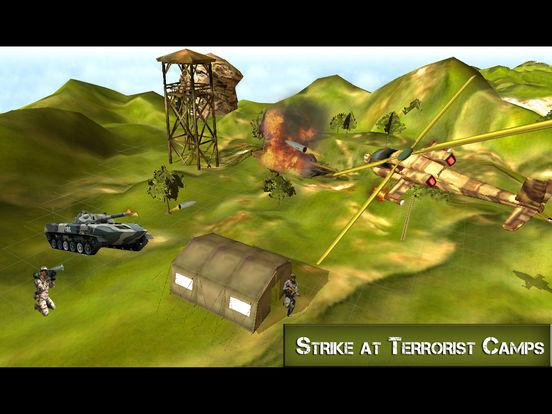 Ultimate Gunship Warplane: Real Jet Attack screenshot 7