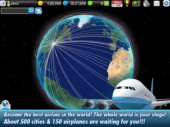 Screenshot #2 for AirTycoon Online 2