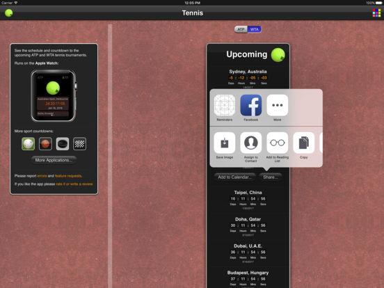 Tennis Matches iPad Screenshot 5