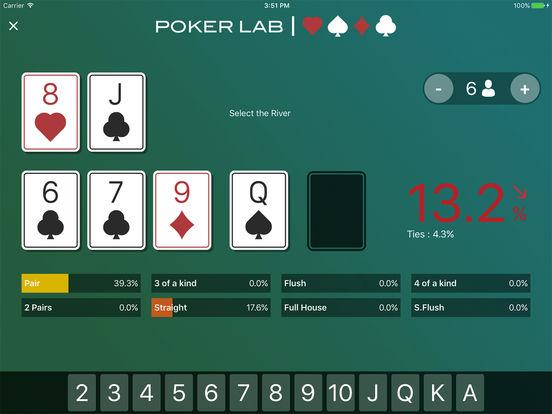 pokerLab. Premium iPad Screenshot 2