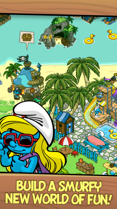 Smurfs' Village iPhone Screenshot 1
