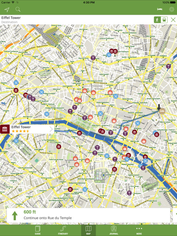 Paris Travel Guide With Offline Maps Mtrip Ipa Cracked For Ios