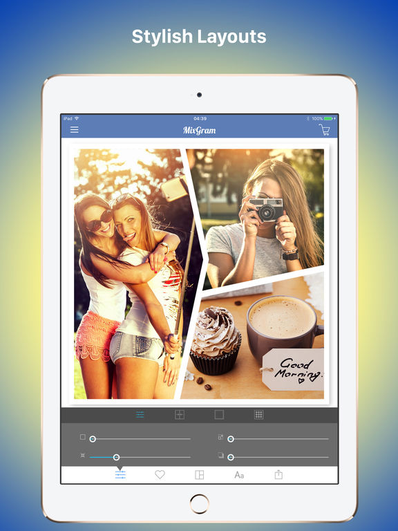 Mixgram Pro : Photo Collage Maker - Picture Editor Screenshots