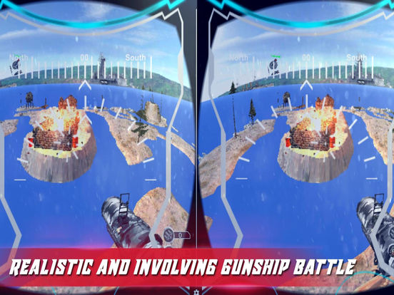 VR US Army Commando Gunship-PRO screenshot 9