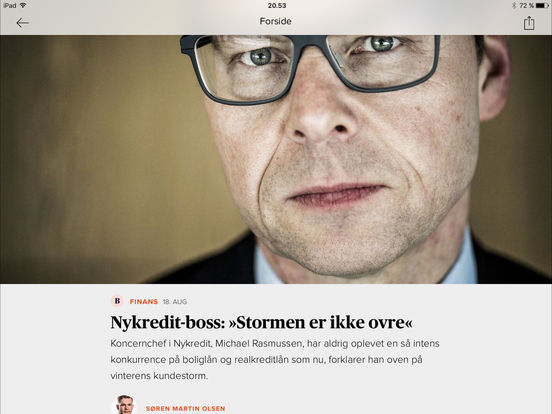 Business.dk iPad Screenshot 3
