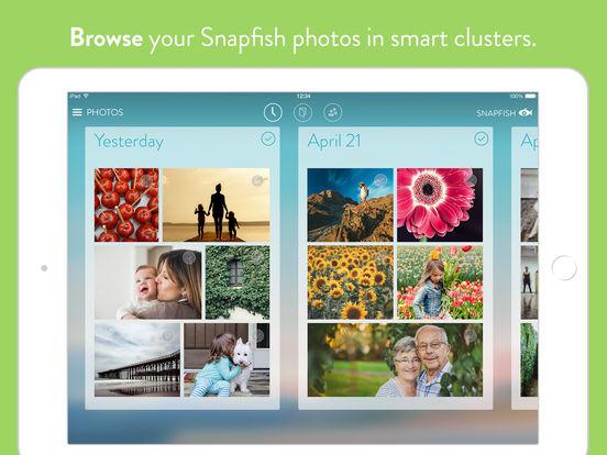 Snapfish iPad Screenshot 1