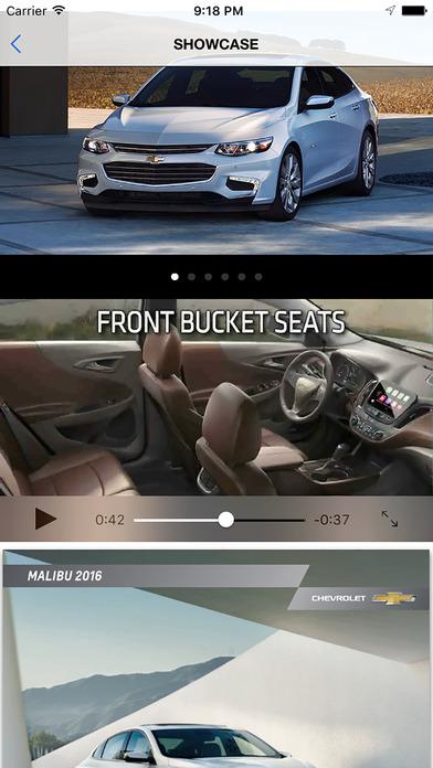Weber Chevrolet iPhone Screenshot 3