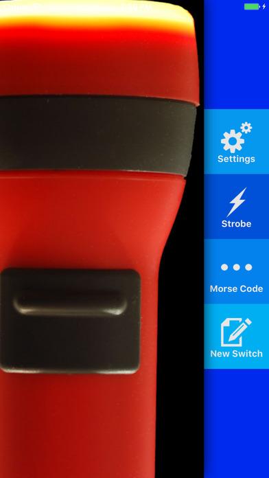 Droid Light - Customizable Flashlight for iPhone 4 iPhone Screenshot 1