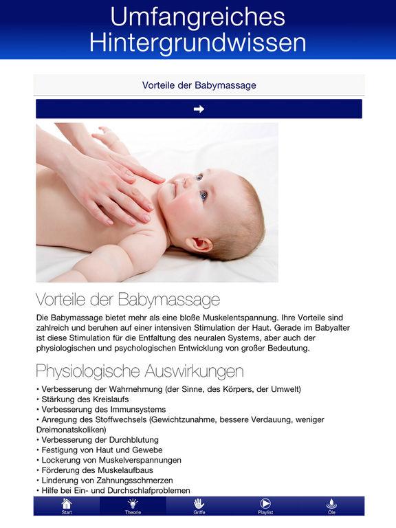 Babymassage PRO | Audioguide Baby-Yoga Massageöle Screenshots