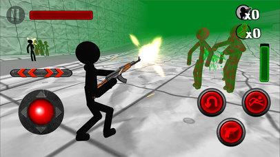 Stickman Zombie 3D screenshot 2