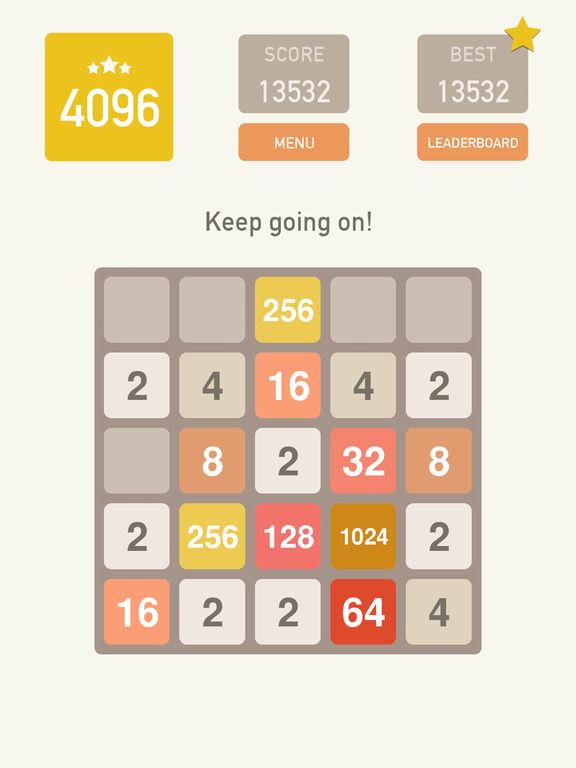 4096 Classic Puzzle! screenshot 6
