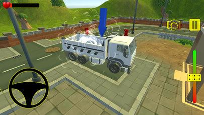 Euro truck cargo construction screenshot 4