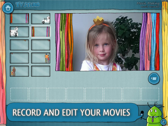 K.I.W.i. Storybooks - TV Studio iPad Screenshot 5
