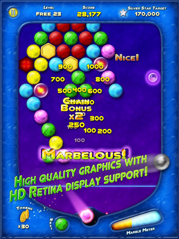Игра Bubble Bust! HD - Pop Bubble Shooter