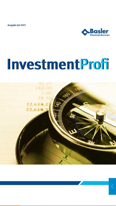 Basler InvestmentProfi screenshot