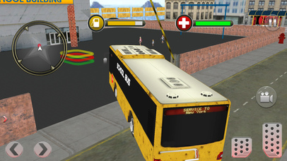 Modern City School Bus screenshot 4