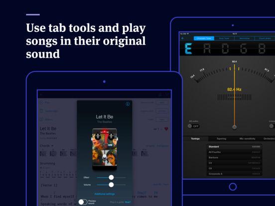 Tabs & Chords HD by Ultimate Guitar Screenshots