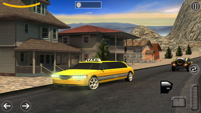 Limo Taxi Transport Sim - Pro Screenshot 3