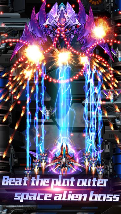 Thunder Assault:Space bullet force Screenshots