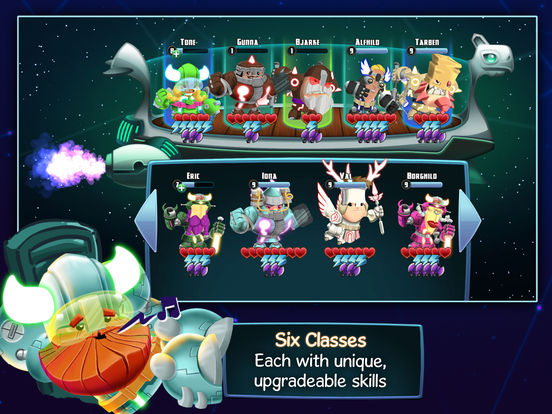 Star Vikings Forever Screenshots