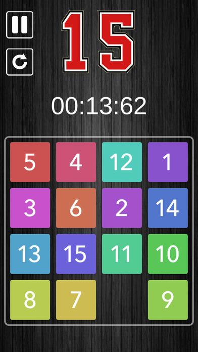 Slide Puzzle 15 screenshot 2