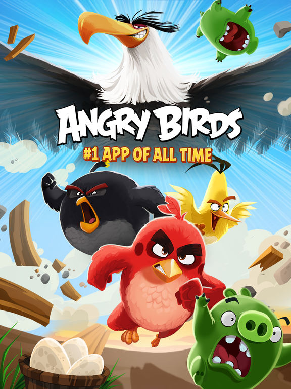 Angry Birds HD Screenshots
