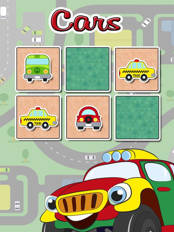 Автомобили найти пар обучающей игру Скриншоты5