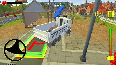 Euro truck cargo construction screenshot 5
