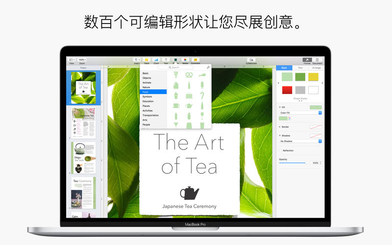 Mac电脑上的word Pages for Mac