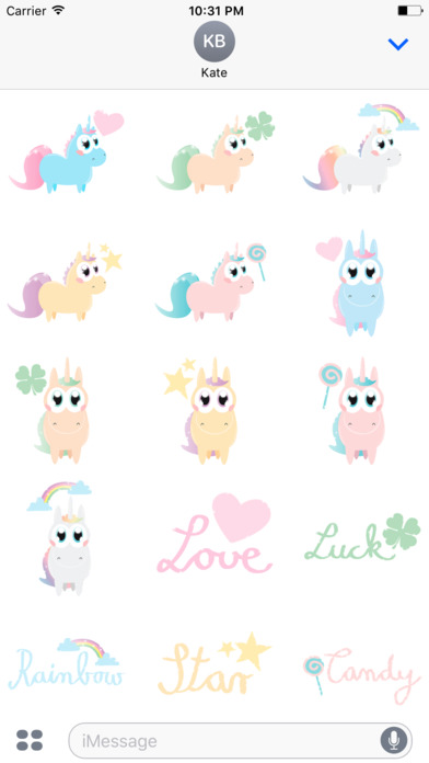 Sparkling Unicorns screenshot 1